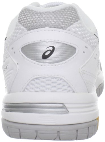 Asics Gel-Rocket 6 Synthétique Chaussure de Tennis White-Silver