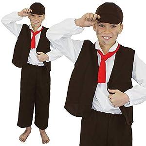 I Love Fancy Dress ILFD7024S - Disfraz de Victoriano pobre para niños (tamaño pequeño)