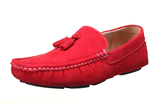 Reservoir Shoes Chaussure Derbie Walter Moccassin Rouge Rouge