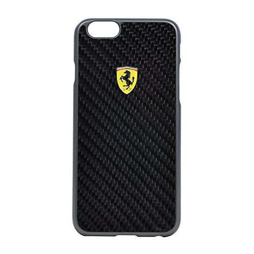 Ferrari Formula One Hard Hülle für Apple iPhone 6 Plus real Carbon