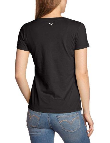 Puma T-Shirt Femme Athletic Gray Noir - noir
