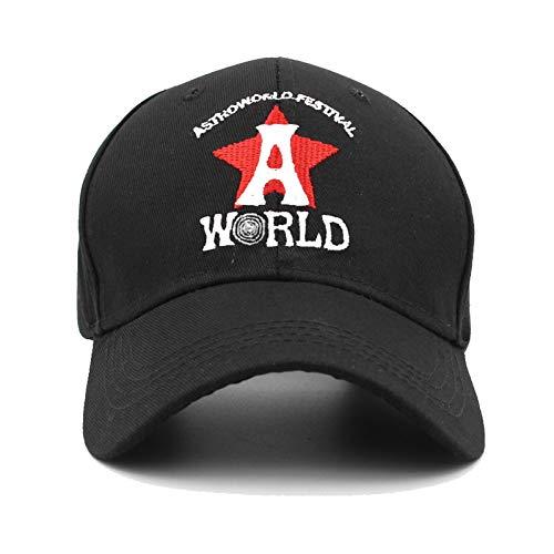 WDBUN Baseballmütze Papa Hut Stickerei Astroworld Hut Baseball Caps Unisex Travis ScottTrucker Cap Snapback -