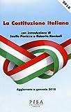 libro La Costituzione italiana. Aggiornata a gennaio 2018