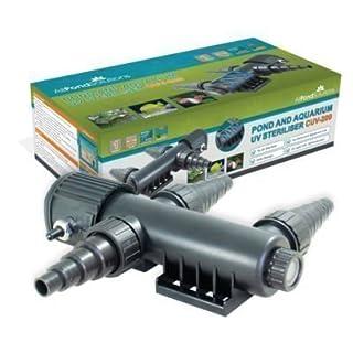All Pond Solutions UV Light Steriliser Clarifier Filter, 9 W