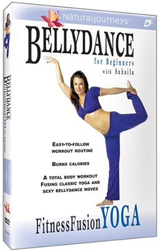 Bellydance for Beginners with Suhaila: Fitness Fusion Yoga by Suhaila Salimpour