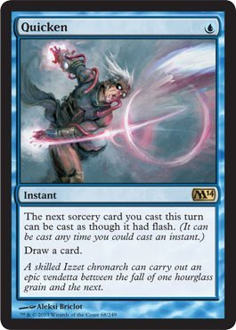 magic-the-gathering-quicken-68-249-magic-2014-by-wizards-of-the-coast
