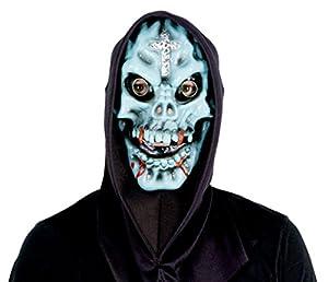 Ciao 68170-Máscara Horror Monstruo Calavera de látex con capucha, modelos surtidos