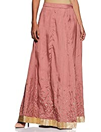Indya Women's silk skirt Bottom