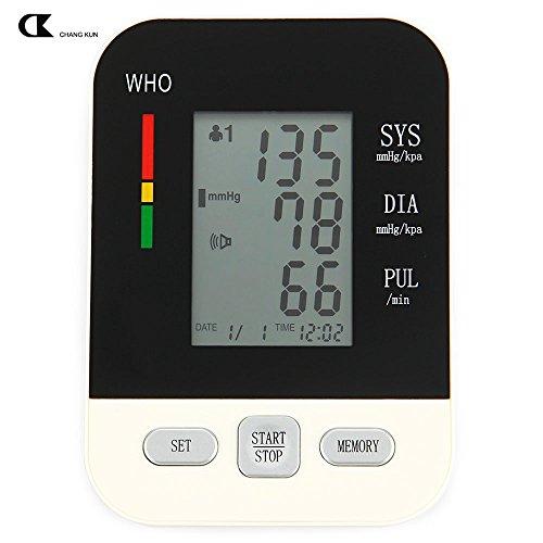 PuMaple Oberarm-Blutdruckmessgerät, vollautomatische Blutdruck- und Pulsmessung am Oberarm mit Arrhythmie-Erkennung