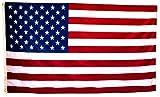 Bandera de los Estados Unidos Grande Exterior 150 x 90 Centímetros, Colores Vivos, Poliéster 110 Gramos/m2, Repelente Al Agua, Resistente A La Intemperie