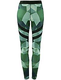Vovotrade® Mode Femmes Yoga Entraînement Gymnase Camouflage Leggings Fitness Sport Pantalon Athlétique Pantalon