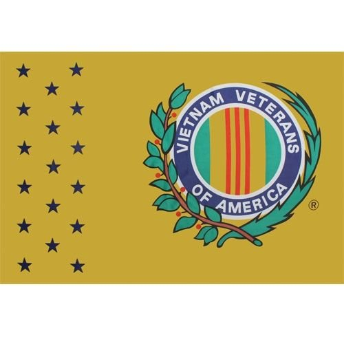 Vietnam Veteranen von Amerika Flagge 3x 5Polyester Flagge