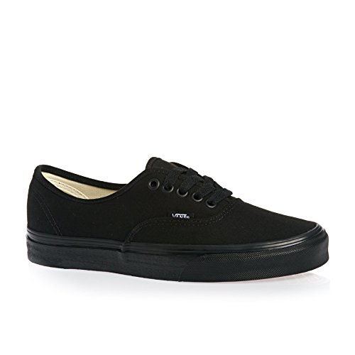 Vans U Authentic - Baskets Mode Mixte Adulte Damier Noir / Noir (Checkboard Black / Black)