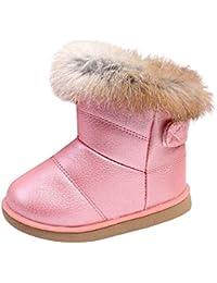 fdc0e8dfe Uirend Zapatos Botas Niños - Niña Botas de Nieve Invierno Botines Calentar  Ante Anti Deslizante Zapato