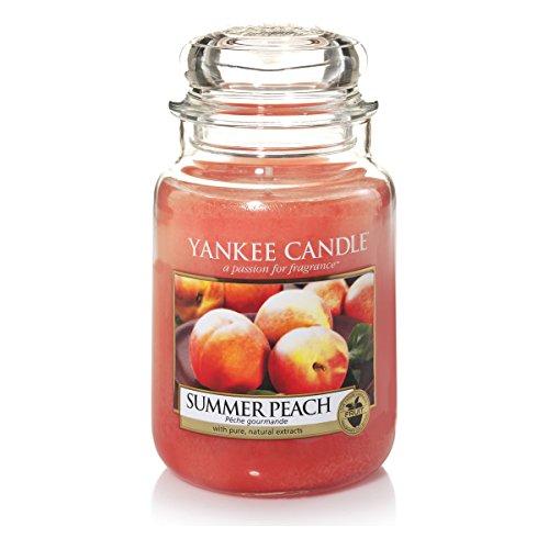 Yankee candle 1507728E Duftkerze, Glas, orange, 10,1 x 9,8 x 17,7 cm