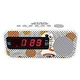 LEXIBOOK Star Wars BB-8-Radio Despertador con Reloj Digital, Pantalla...