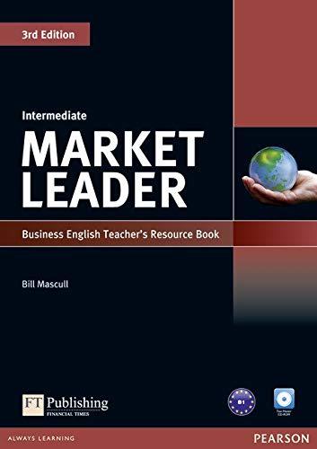 Market Leader 3rd Edition Intermediate Teacher's Resource Book/Test Master CD-ROM Pack
