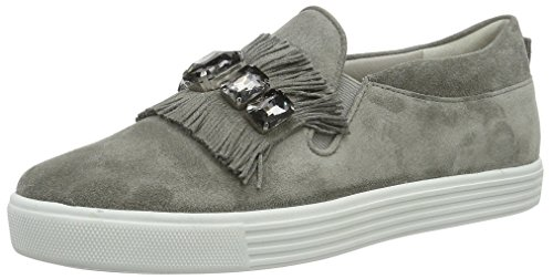 Kennel und Schmenger Schuhmanufaktur Town, Sneaker Basse Donna Grau (stone/smoke Sohle Weiss)