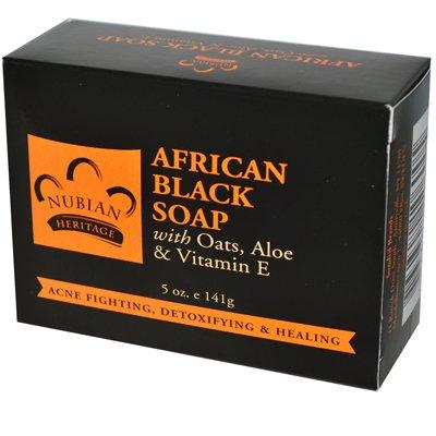 Nubian Heritage Bar Soap African Black w/ Oats