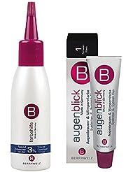 """Berrywell """"augenblick"""" Wimpernfarbe / Augenbrauenfarbe 15ml Schwarz + Entwickler 61ml"""