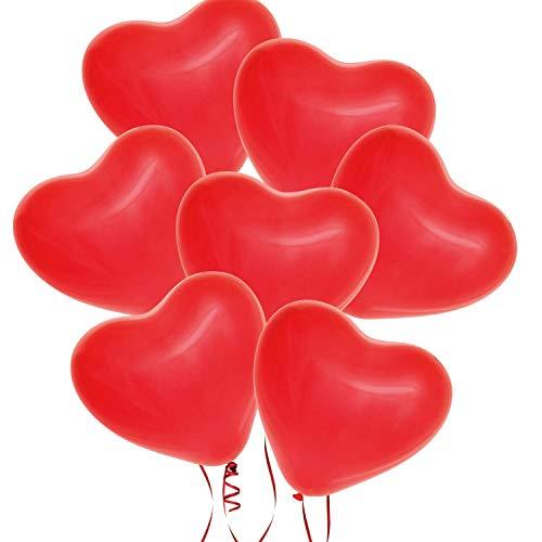 Kaimeng san valentino cuore palloncini per matrimonio compleanno festa decor (20 pezzi)