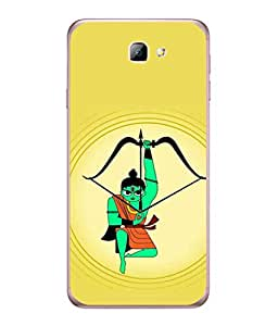 PrintVisa Designer Back Case Cover for Samsung Galaxy On7 (2016) (arjuna with bow and arrow)