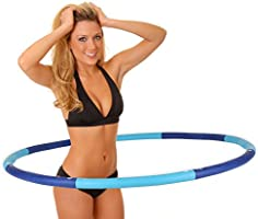 Hoopomania, Hula Hoop Tyre with Foam, From 1.2 to 2.0 kg, for Pain-Sensitive and Professionals, Gentle Massage Against...