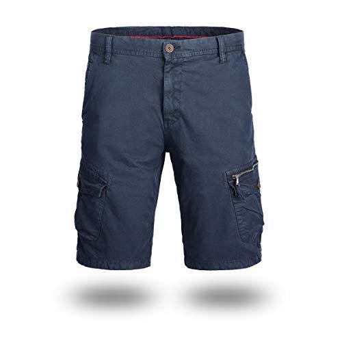 Ozon Bib (CHLCH Herren Sport Shorts Jogginghose KordelzugRetro Freizeithose dunkelblau 40)