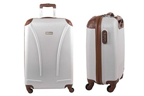 Maleta rígida PIERRE CARDIN beige mini equipaje de mano ryanair S160