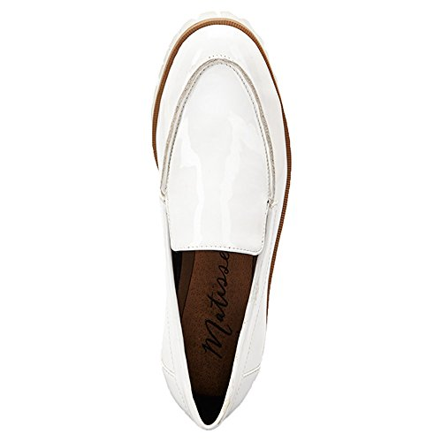 Matisse Messer Synthétique Mocassin white