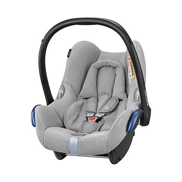 Maxi-Cosi FamilyFix ISOFIX Base Suitable for CabrioFix with Baby Car Seat, Nomad Grey Maxi-Cosi ISOFIX car seat base suitable for children up to 18 kg (from birth to 4 years) Click and go installation: Easy car installation in combination with Maxi-Cosi CabrioFix and Pearl car seats Baby car seat, suitable from birth to 13 kg (birth to 12 months) 1