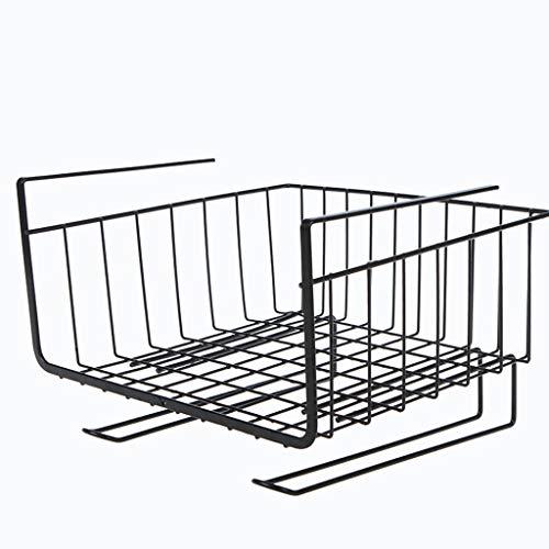 Webla-Kitchen Storage Bin Unter Regal Draht Rack Schrank Korb Organizer Halter Stand (Storage Draht-rack Bins)