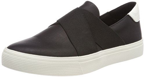 ESPRIT Damen Semmy Slip On Sneaker, Schwarz (Black), 39 EU (Schuhe Slip-ons)