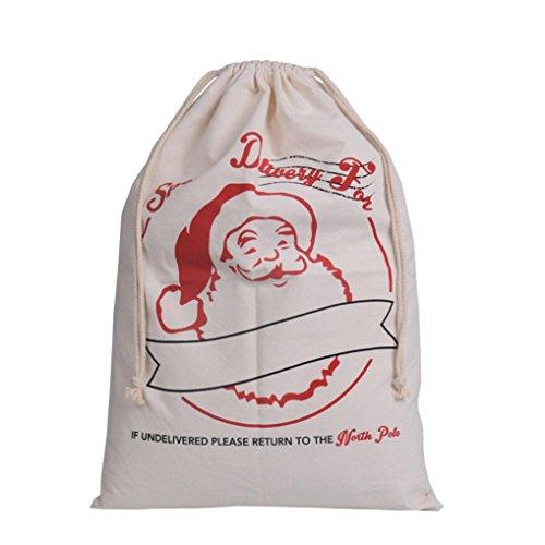Kostüme Garde Farbe Nette (Christmas candy bag Weihnachten Süßigkeiten Tasche HKFV Weihnachtsbeutel scherzt Süßigkeit-Beutel-Verpackungs-Kind-Partei-Speicher-Beutel-Geschenk)
