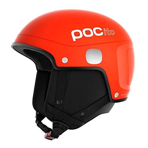 POC Skihelm POCito Skull Light, Orange (Fluorescent Orange), X-Small/Small, PC101509050XSS1 (Poc Helm Orange)
