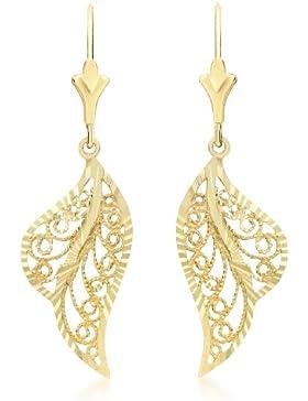 Carissima Gold Damen-Ohrringe 375 Gelbgold