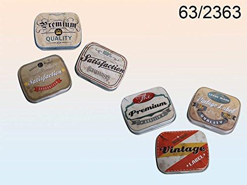 Caja de almacenamiento de metal - se vende por separado - estilo retro