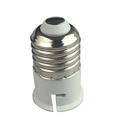 alkyoneus E27auf B22LED Leuchtmittel Schraube Lampe Halter-Fassung Adapter Konverter (Wein-flaschen-licht-buchse)