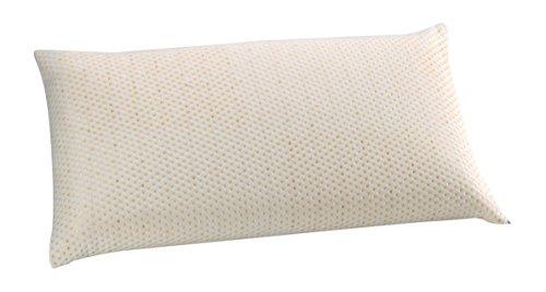 Oasis-cuscino classico, in memory foam con filo in ceramica, antistress, colore: oro 90cm oro