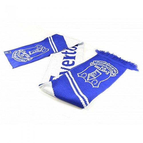 Everton FC Oficial – Bufanda jacquard diseño Vertigo