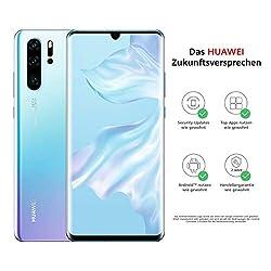 HUAWEI P30 Pro Dual-SIM Smartphone Bundle (6,47 Zoll, 256 GB ROM, 8 GB RAM, Android 9.0) Breathing Crystal + USB-Adapter [Exklusiv bei Amazon] - DE Version
