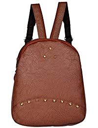1df68dcbf701 MultiZone Spiker Style Backpack - School College Casual Backpack for Girls  - Fashion Bag Daypack -
