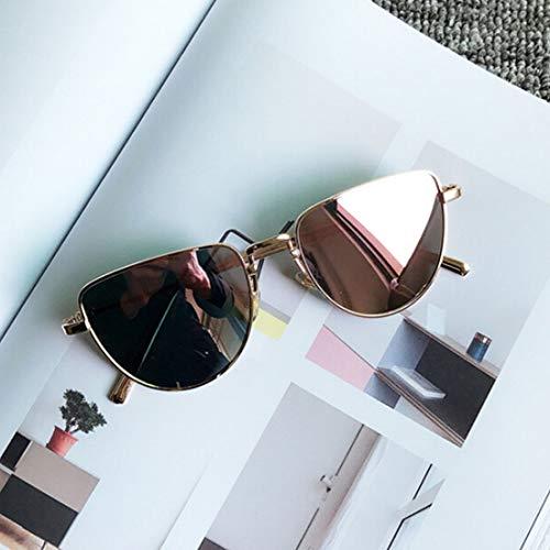 WARM home Wunderschönen Mode uv400 polarisierte Sonnenbrille persönlichkeit Netz rot dunkle Brille Geschenk (Artikelnummer : Hc8148d)