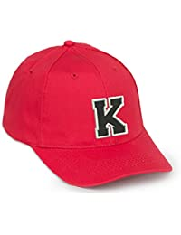 Casual Cotton Baseball Cap Alphabet A-Z Red Caps black letter Snap Back Hat Hats Snapback