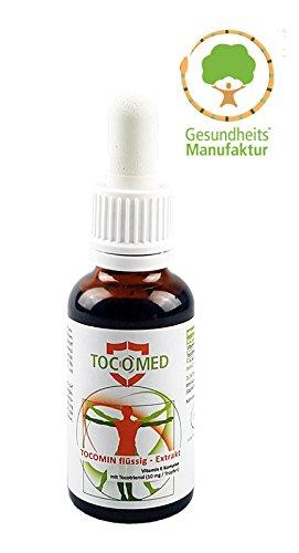 TOCOMED Tocomin Flüssig-Extrakt - Vitamin E Komplex mit Tocotrienol von EVNol (Vitamin-e-tocotrienol)