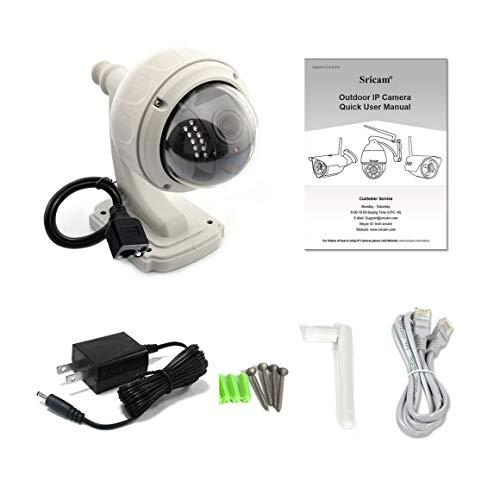 Funnyrunstore telecamera ip dome ir night vision 720p wireless wifi telecamera di sicurezza esterna ir-cut