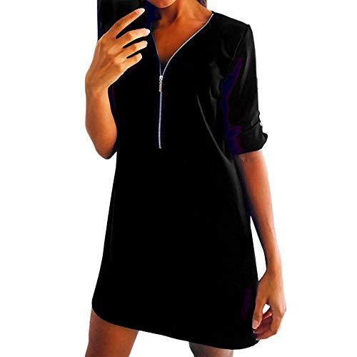 Gimli Vestiti Donna Eleganti Corti Vintage Autunno Abiti da Cerimonia Linea  Ad A Vestitini da Giorno 0f6cc8444a4