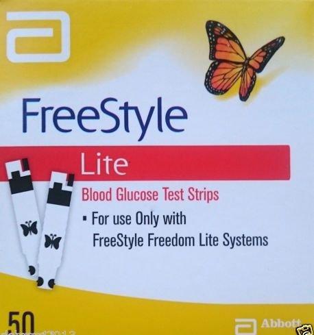 Freestyle Lite tiras de prueba