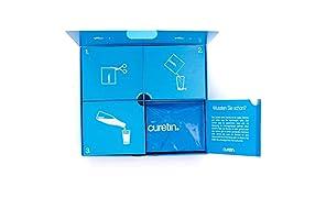curetin - Für die Regeneration nach Operationen | Mit wichtigen Nährstoffen für die Wundheilung | Kollagen, Arginin, Zink, Kupfer, Vitamin C, Vitamin D | Den Körper gezielt unterstützen (4-Wochen-Box)