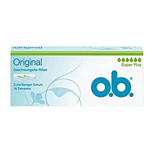 o.b. Super Plus Tampons, Pack of 16